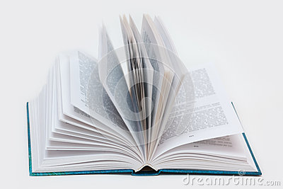 Pages in the book
