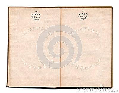 British-Palestine Vintage Passport