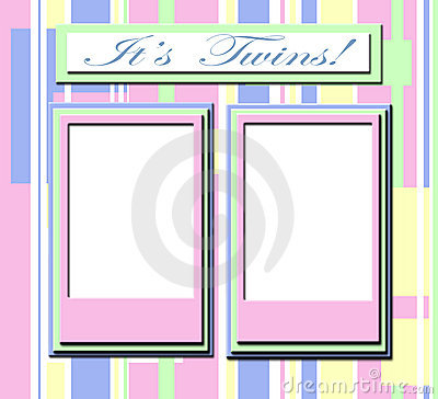 Pagina per i bambini gemellare