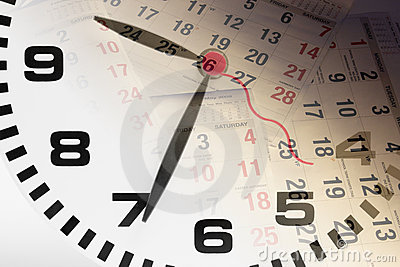 Pagine del calendario e dell orologio