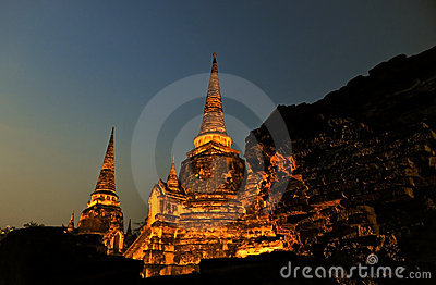 Pagoda@Ayudhya Thailand