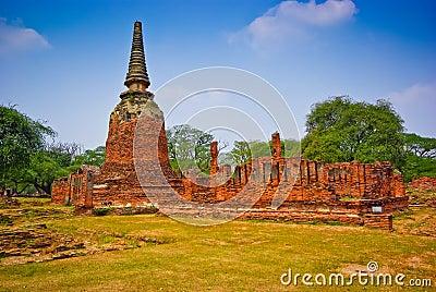 Pagoda of Ayutthaya