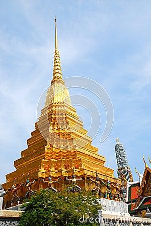 Pagoda in bangkok palace