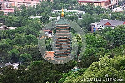 Pagoda in beijing