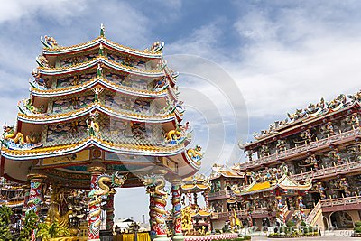 Pagoda in belief