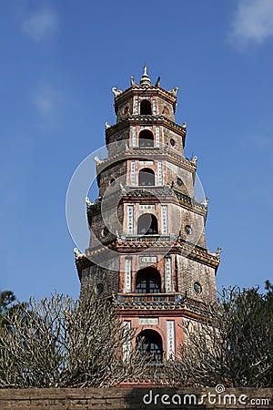 Pagoda in Hue, Vietnam