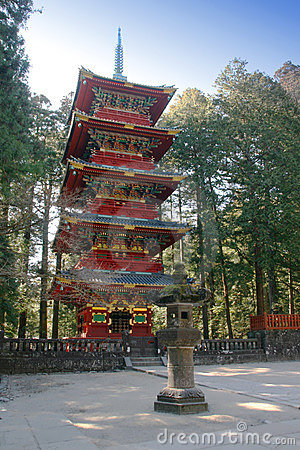 Free Pagoda In Nikko Royalty Free Stock Image - 2029456