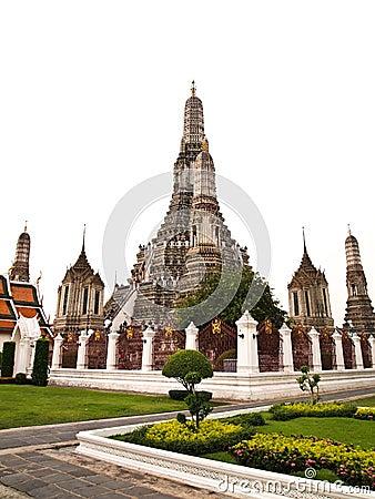 Free Pagoda In The Wat Arun , Bangkok Thailand Royalty Free Stock Photo - 20814935