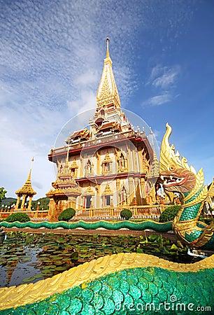 Free Pagoda In Wat Chalong Phuket Stock Image - 20885291