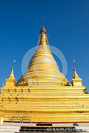 Pagoda  , Mandalay in Myanmar (Burmar)