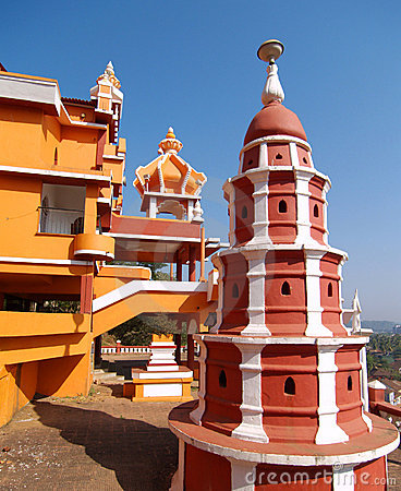 Pagoda at Maruti Temple