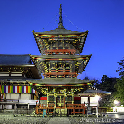 Pagoda at Narita-san Temple near Tokyo, Japan