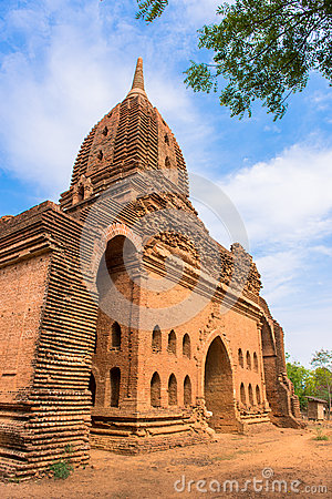 Pagoda of old Bagan ancient city