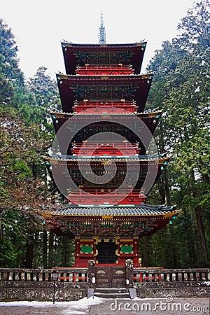 Pagoda at Rinnoji Temple