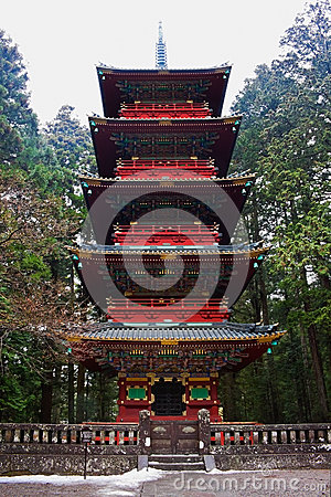 Pagoda at Rinnoji Temple