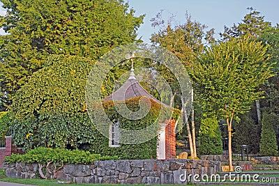 Pagoda Roof Golden Weather vane