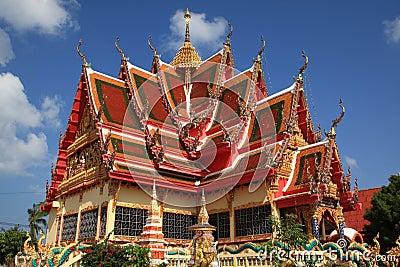 Pagoda,Samui, Thailand