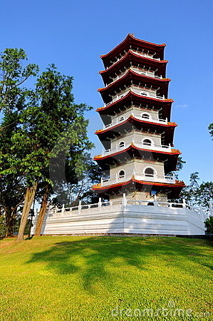 Pagoda in Singapore Chinese Garden