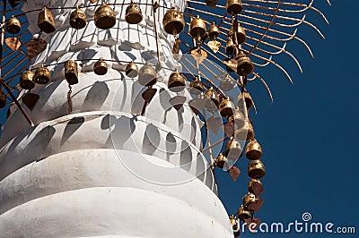 Pagoda spire in Kakku
