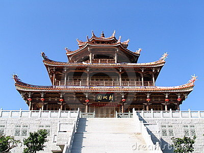 Pagoda and Stairs
