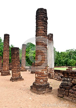 Pagoda at Sukhothai Historical Park.