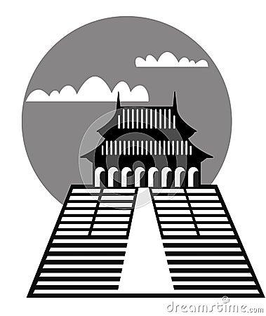 Pagoda - vector