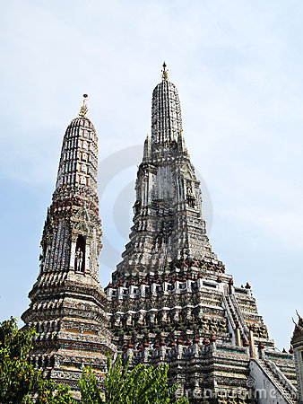 Free Pagoda , Wat Arun (Temple Of The Dawn) Stock Photos - 21375473