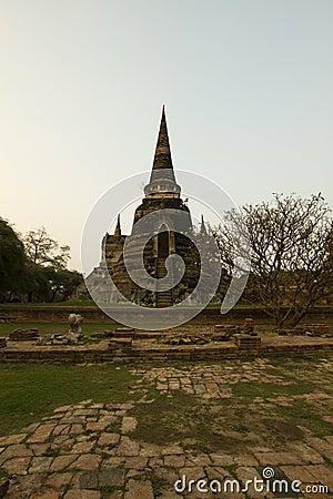 Pagoda at Wat Chaiwattanaram Temple, Ayutthaya, Th