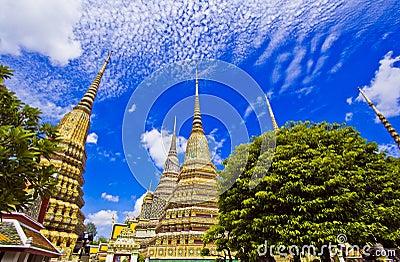 Pagoda at Wat Pho