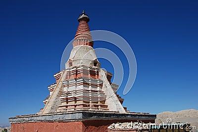 Pagoda in west tibet