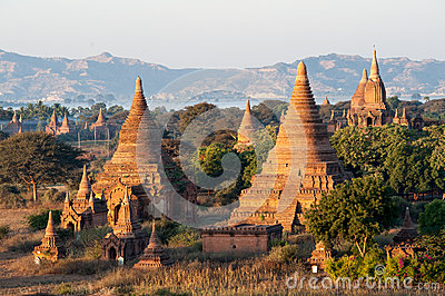 Pagodas de Bagan