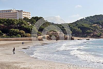 Paguera beach, Majorca