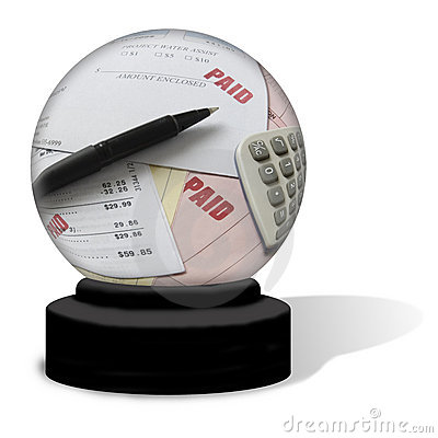 Paid Bills Crystal Ball