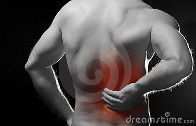 Pain in back