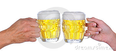 Pain grillé de bière