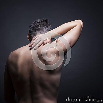 Free Pain Neck Stock Photos - 26288303