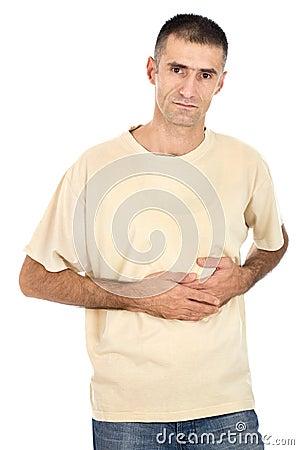 Pain in pancreas