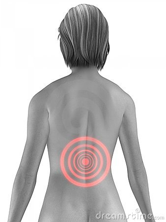 Free Painful Back Stock Photography - 5604932