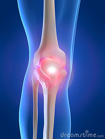 Free Painful Knee Royalty Free Stock Images - 2462729