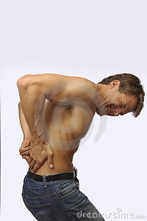 Painful lower back pain