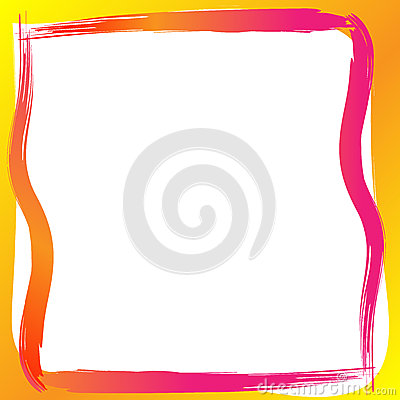 Free Paint Border Frame Royalty Free Stock Images - 46925029