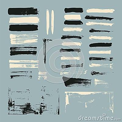 Free Paint Brush Strokes Stock Photography - 31055422