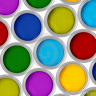 Free Paint Can Royalty Free Stock Photography - 10879237