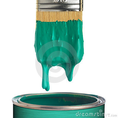 Free Paint Can Stock Image - 10879241