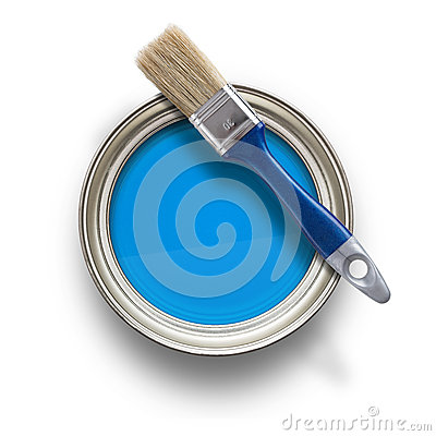 Free Paint Can Stock Photography - 36558092