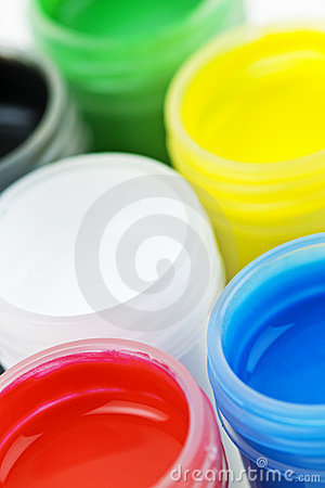 Paint Of Different Colors Royalty Free Stock Images - Image: 23718789