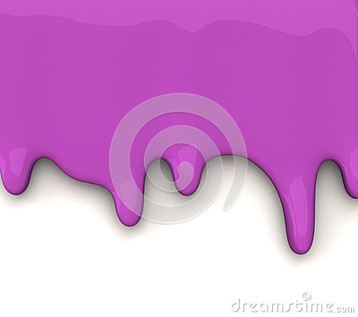 Paint dripping 3d background