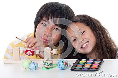 Paint easter egg