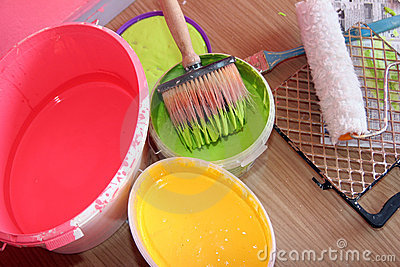Paint equipment