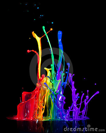Free Paint On A Speaker Royalty Free Stock Photography - 15298197